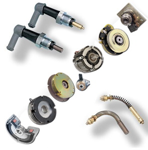 Electro magnetic clutches and brake and Telescopic Brushes